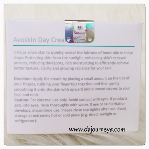 Avoskin Day Cream