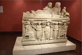Sarcófago de Domitila – Museo Arqueológico de Antalya