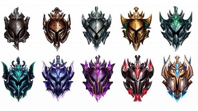 League of Legends Listesi: Wild Rift sıralama kademeleri