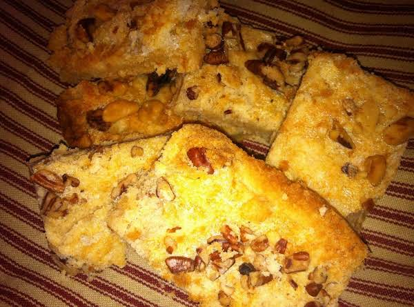 Double Nut Bars Recipe