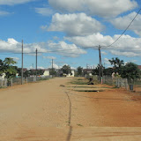 Chuck and Mary's street in Selebi-Phikwe