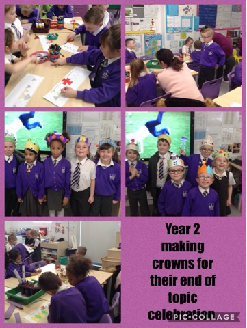 Year 2's end of topic celebration