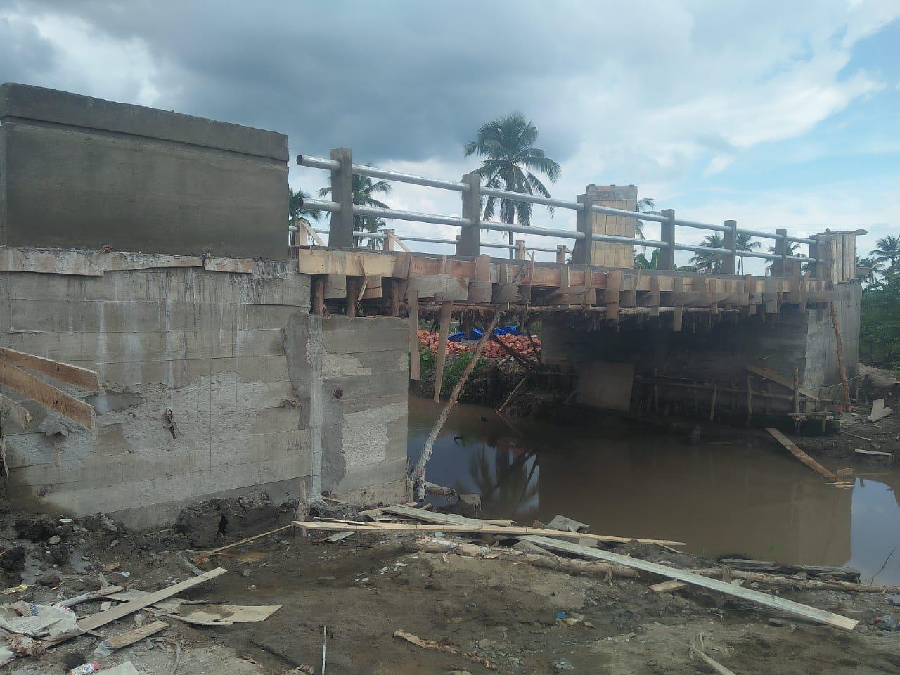 Dansatgas Ungkapkan Jembatan Penghubung Sudah Selesai Dikerjakan Satgas TMMD