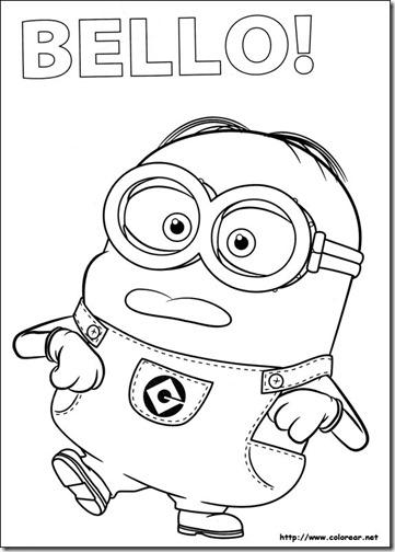 Imagenes Minions Malos Minion Malo Para Colorear Minion Amatcardco