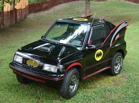 Coche tuneado de Batmobil
