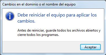 Agregar equipo con Windows 7 a dominio Windows Server 2003