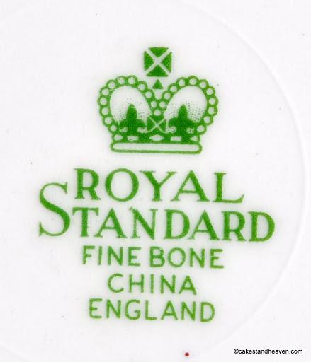 Royal Standard Backstamp c.1949+