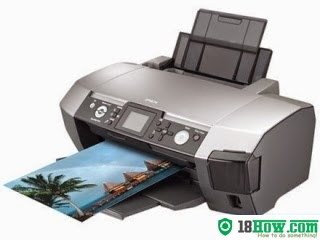 How to Reset Epson R350 flashing lights problem