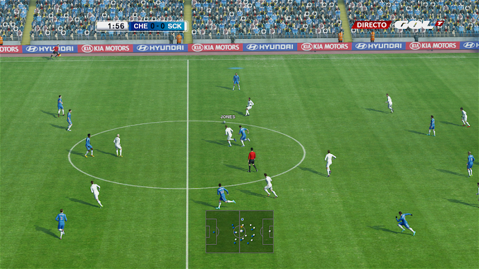 No-Blur patch 1.04 - PES 2013