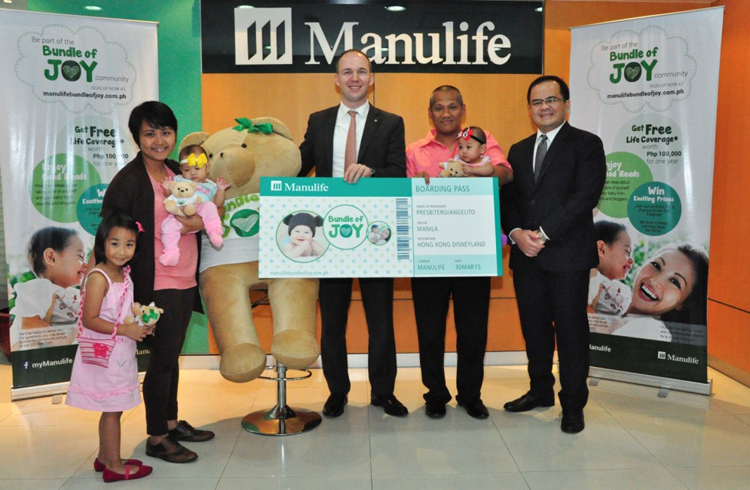 Manulife Philippines Awards Lucky Customers with Trip to Hong Kong Disneyland