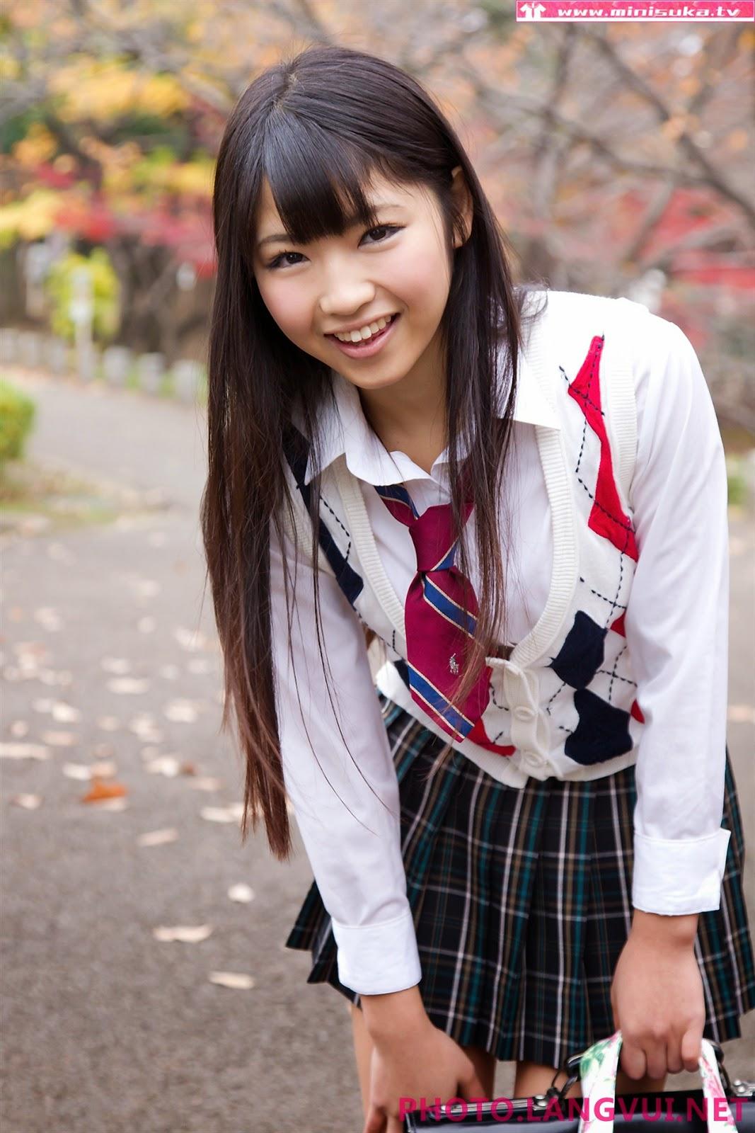 Minisuka Rina Nagai 26062013