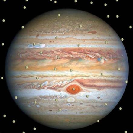 Ερασιτέχνης αστρονόμος ανακάλυψε νέο δορυφόρο στον Δία