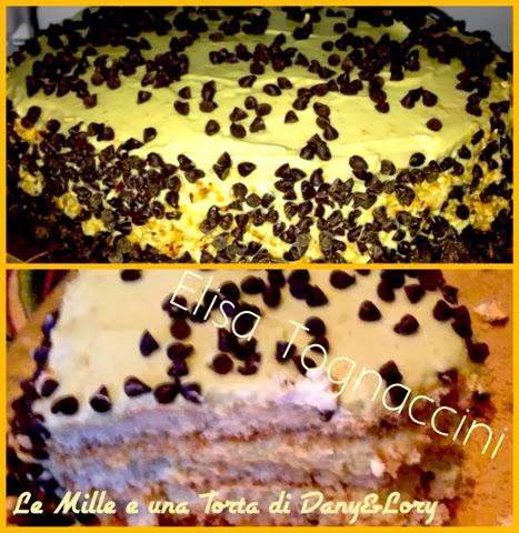 torta farcita con crema al mascarpone e pistacchio