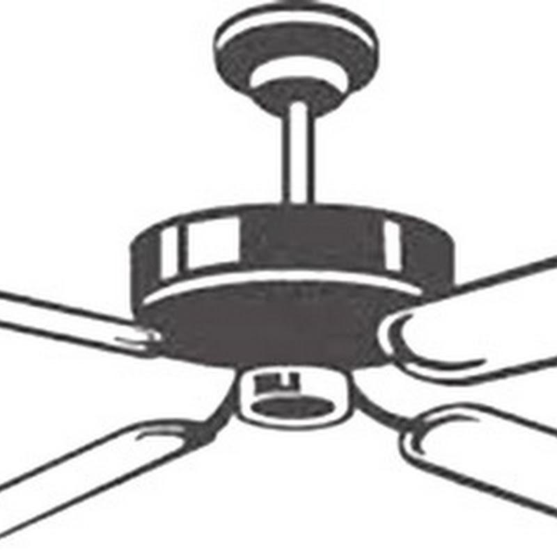 Colorear dibujos de ventilador de techo