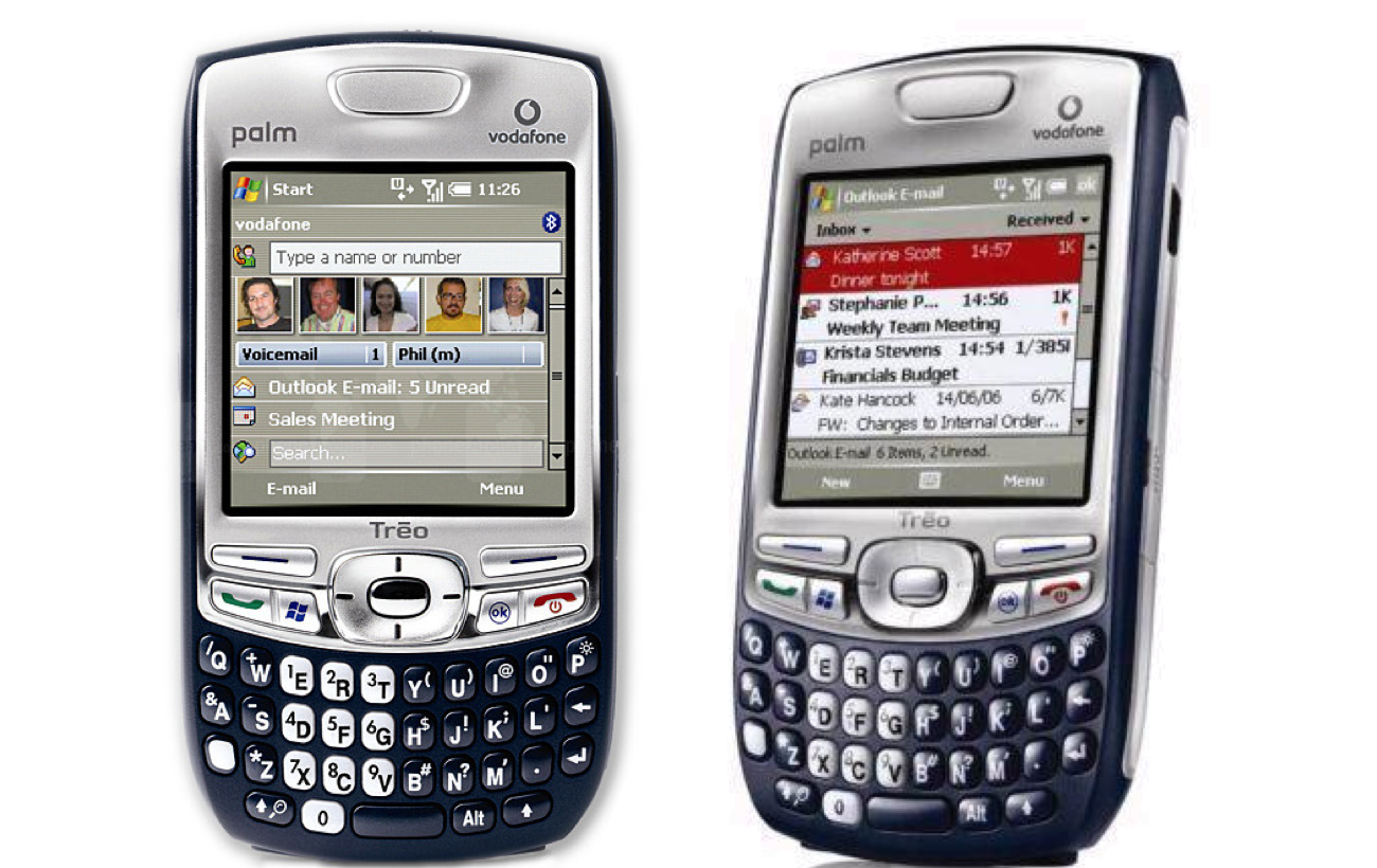 Palm Treo 750 - an iconic piece of history in the mobile world