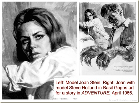 ADVENTURE April 1966. Basil Gogos, Joan Stein & Steve Holland WM - Copy
