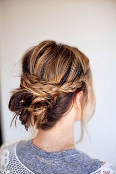 Braid for Short Hair :Style French Style Newest Ideas 2017 10