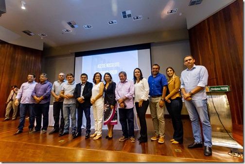 Prefeitos do RN elegem nova Diretoria da FEMURN - Foto Meysa Medeiros