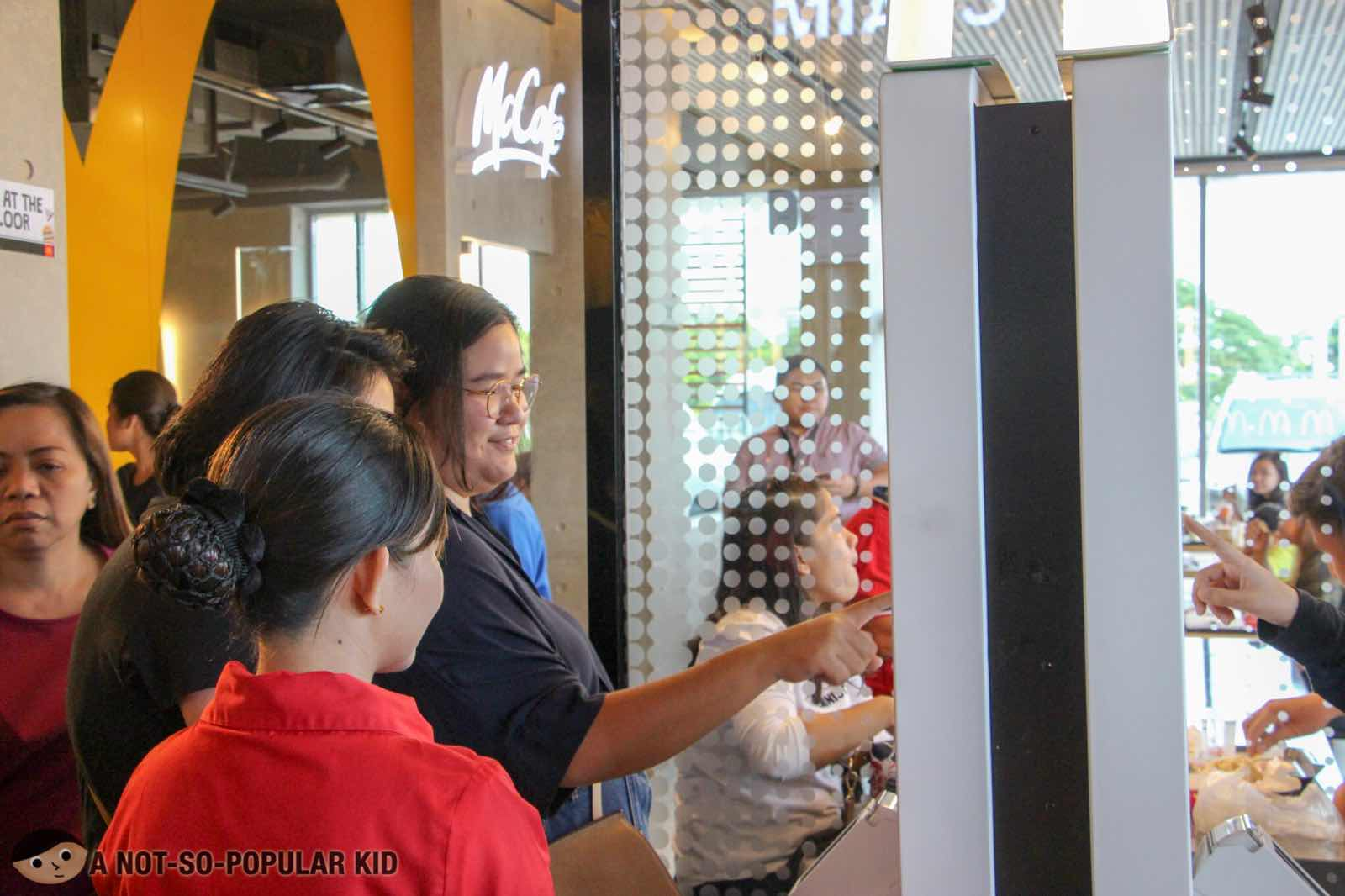 Self-Ordering Kiosks of NXTGEN McDonald's
