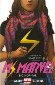 Cover art for Ms Marvel Volume One