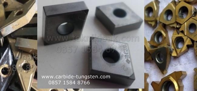 Bekas Insert, Endmill, Bor/Drill, Reamer, Holder, Tap, Snei dan Material Carbide lain
