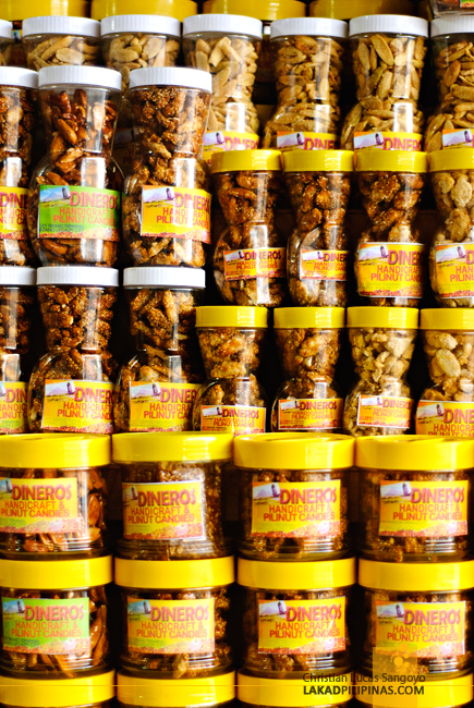 Pili Nuts at Legazpi's Ibalong Pasalubong Center