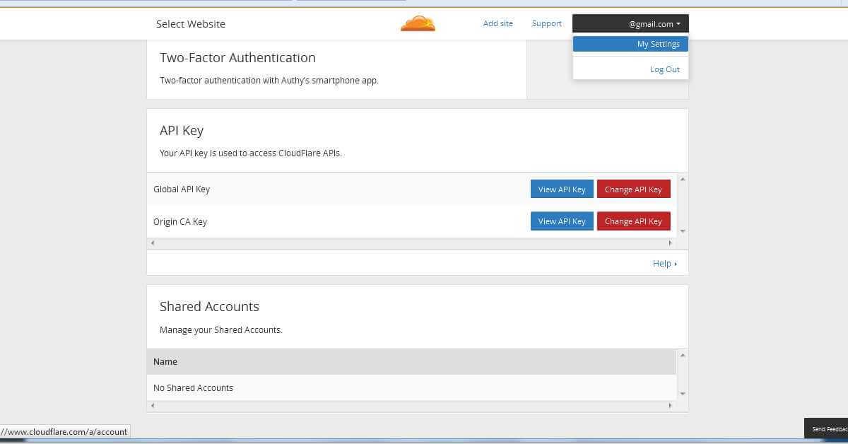 Cloudflare API Keys for WordPress Plugin