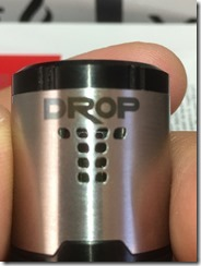 IMG 9353 thumb - 【爆煙スコンカー対応RDA】DIGIFLAVOR DROP RDA(デジフレーバー ドロップアールディーエー)レビュー~爆煙だけど濃厚フレーバー<*`∀´*>編~【電子タバコ/VAPE/ドリッパー】