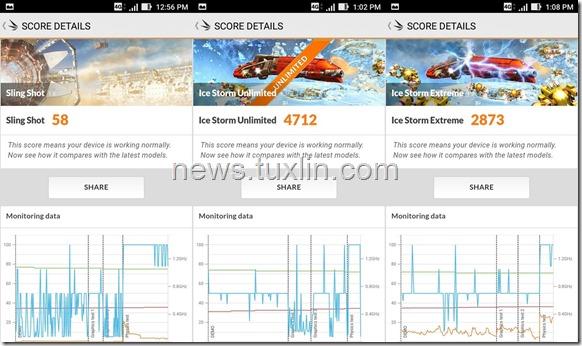 Benchmark Asus Zenfone Live ZB501KL 3DMark