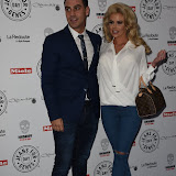 OIC - ENTSIMAGES.COM - Jonathan Clark and Hannah Elizabeth at the  Jeans for Genes Day 2015 - launch party in London 2nd September 2015 Photo Mobis Photos/OIC 0203 174 1069