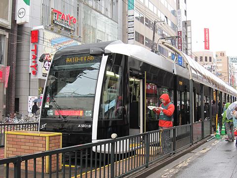 札幌市電 A1201号 お披露目会にて(H25.05.03)