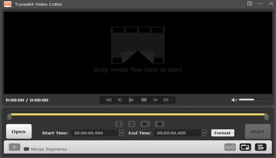 قاطع صوت TunesKit M4A Media Cutter