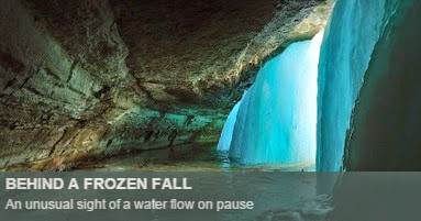 Behind a Frozen Fall