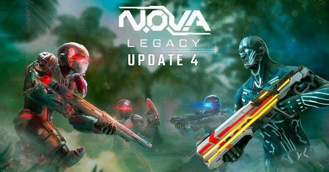 Nova Legacy 4. Güncellemesi Yanında