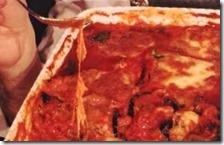 La parmigiana di melanzane di Sergio Barzetti