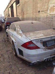 Abandoned Mercedes CL63 AMG
