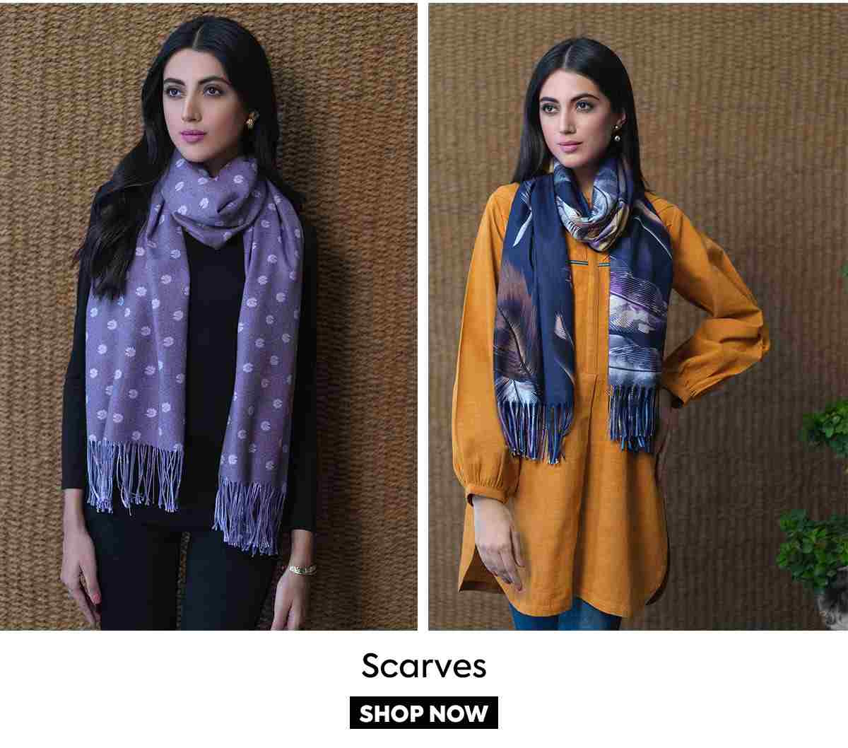 Bonanza Satrangi Sweaters and Shawls 2021