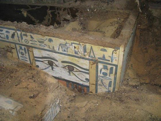 Nova descoberta Túmulo intacto descoberto em Assuão 02