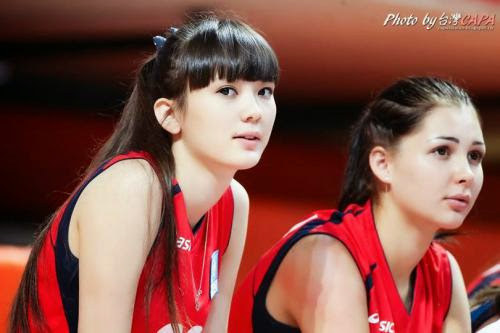 Sabina Altynbekova Pretty Volleyball Player From Kazakhstan