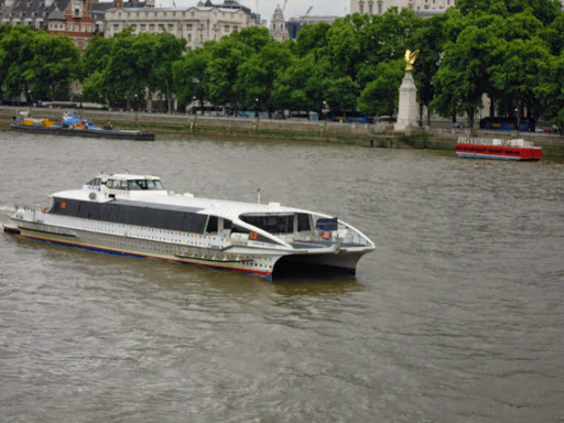 Take the ferry whilst in London!