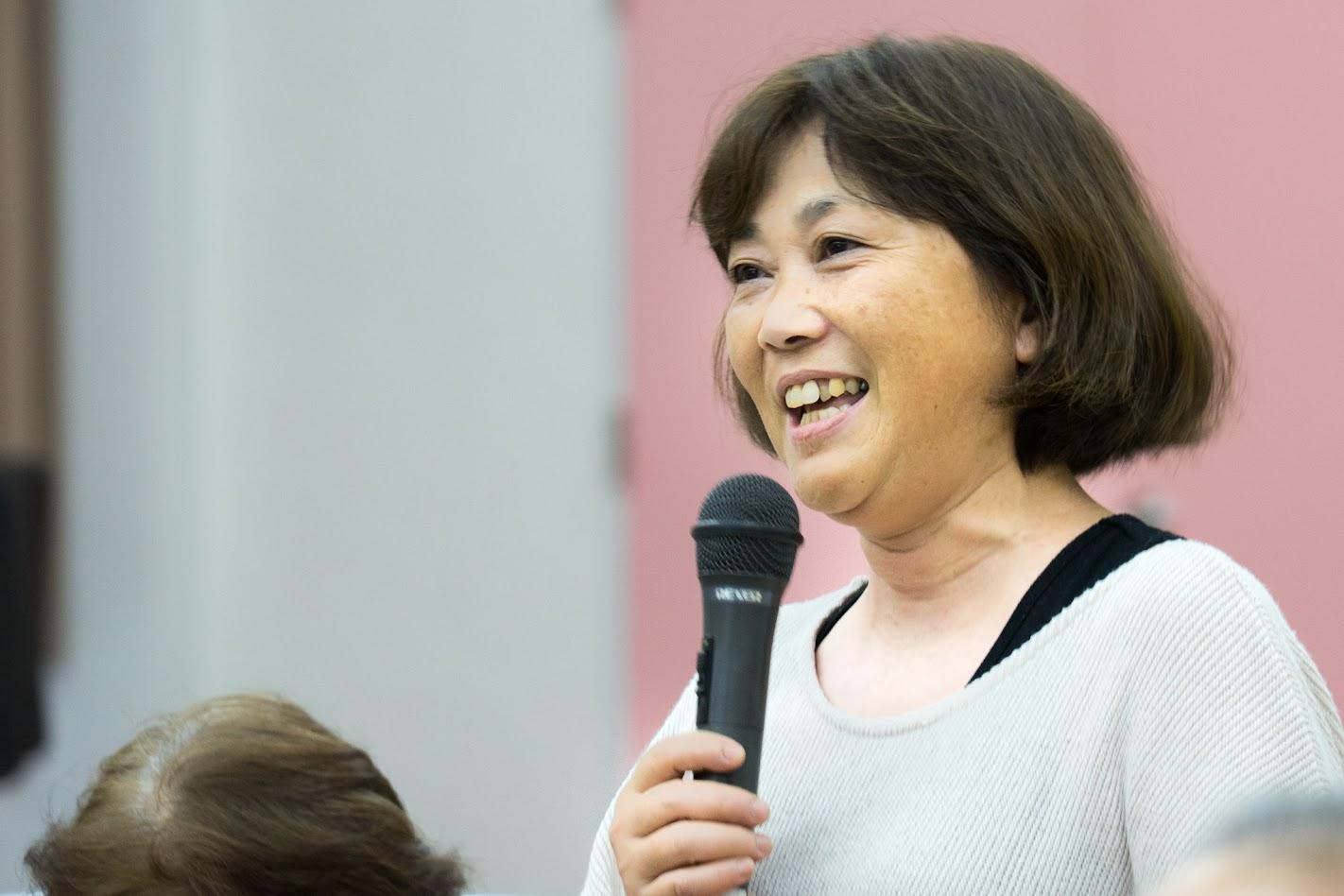 尾崎佳子さん