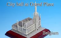 City hall at Grand place -Belgium-