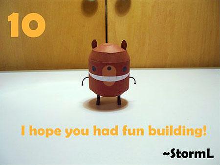 Beartato Paper Toy