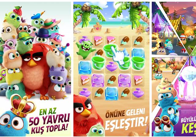 Angry Birds Match Yeni Mobil Oyun Ön Kayıt Yaptır