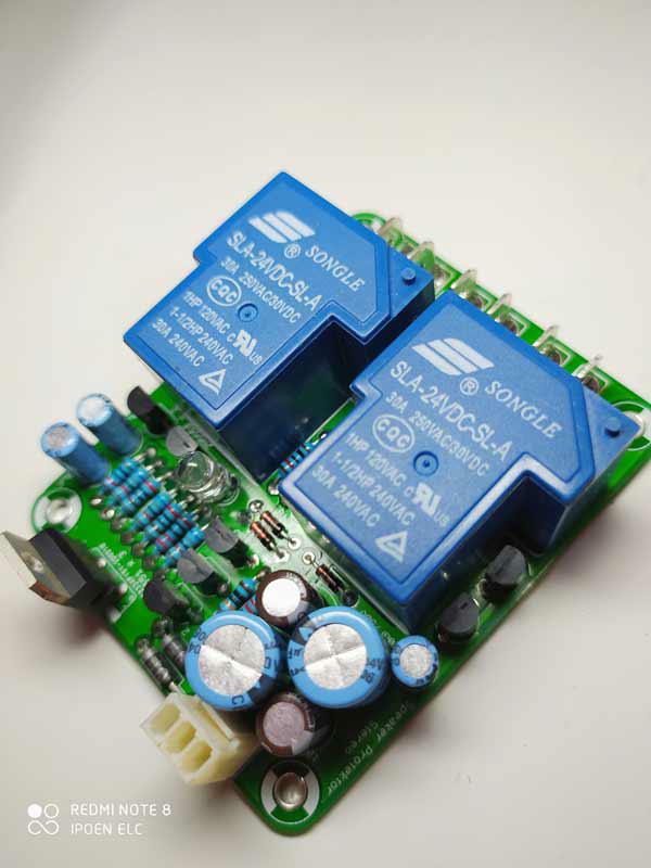 fungsi speaker protector pada power amplifier