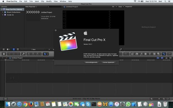 Simple Fix to 'Final Cut Pro Quit Unexpectedly' (Version X 10 2 1)