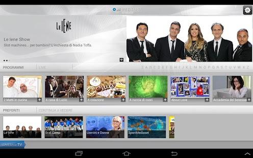 Mediaset on demand HD- screenshot thumbnail
