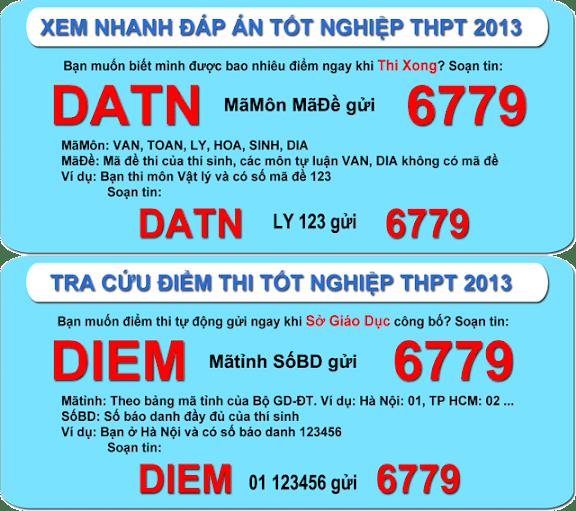 Diem thi - diem chuan - DH CD