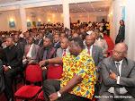 Des participants à la conférence de presse de l'Alliance pour le développement et la République (ADR) le 16/08/2012 à Kinshasa. Radio Okapi/ Ph. John Bompengo