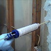 Inject the Hydra Stop 300 expanding foam through the surface ports